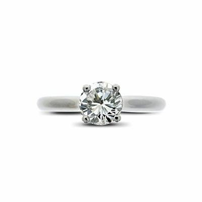 Brilliant Cut Solitaire 0.60ct EVS1 GIA